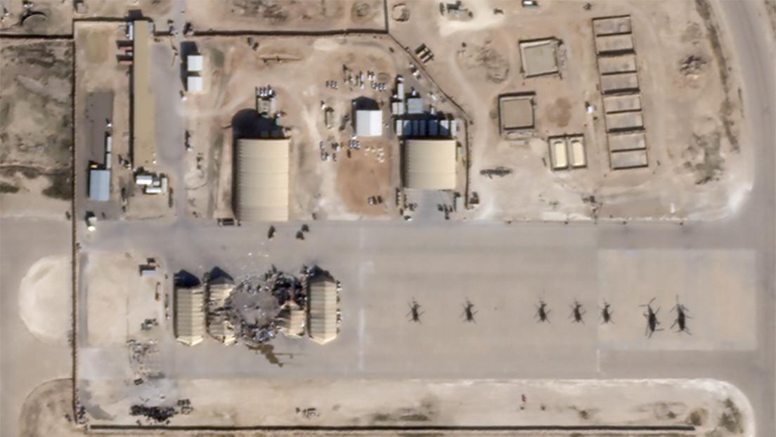 Base aérea Al Asad en Irak: fotos satelitales muestran daños causados por el ataque iraní