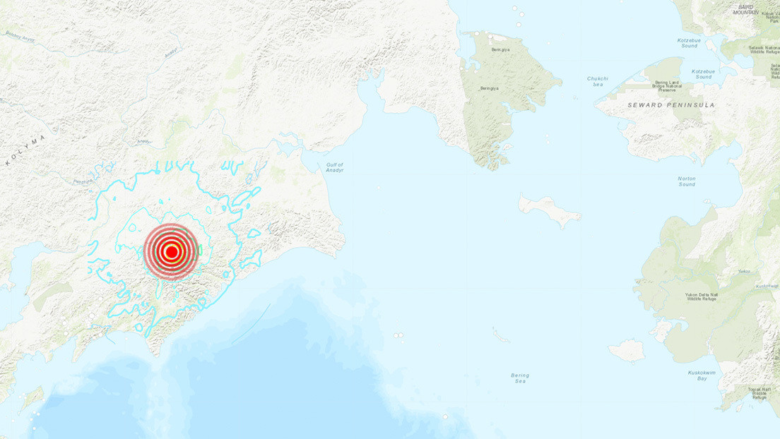 Se registra un sismo de magnitud 6,2 en el Lejano Oriente de Rusia