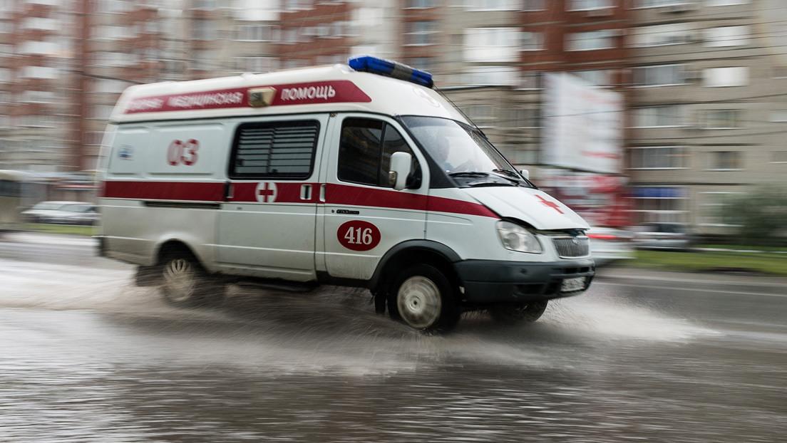 Una mujer entra en coma por un accidente de tránsito y muere poco después al sufrir su ambulancia otro siniestro