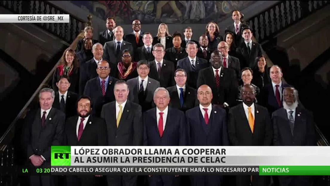 México asume la presidencia temporal de la CELAC