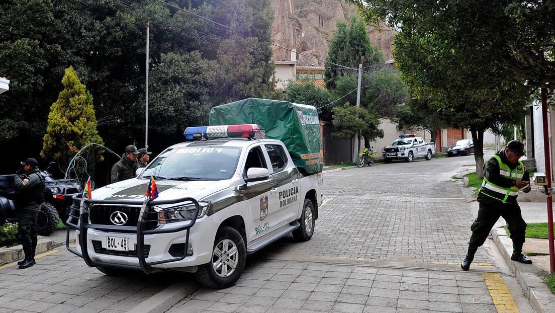 La Fiscalía de Bolivia pide a España un informe sobre la presencia de agentes en la Embajada de México