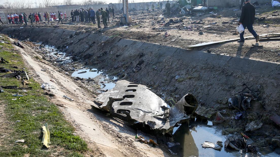 """Irán responde a los """"rumores ilógicos"""" del derribo del avión ucraniano"""