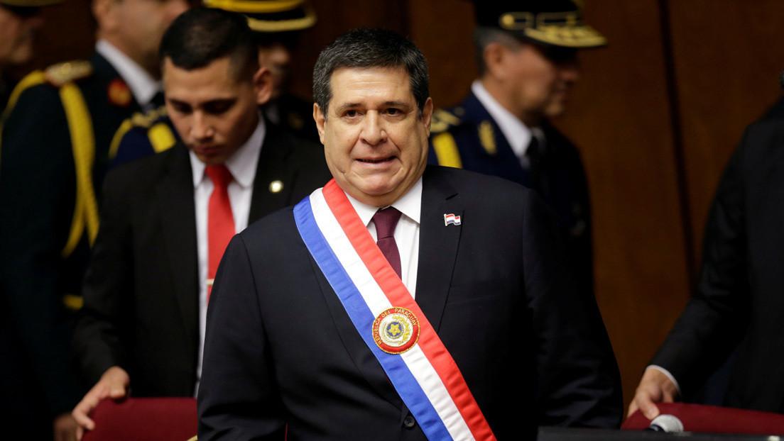 Justicia brasileña acepta denuncia contra el expresidente de Paraguay Horacio Cartes