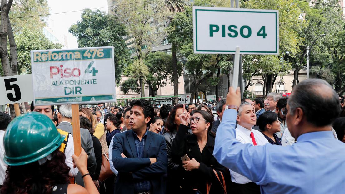 Ciudad de México prepara el primer 'megasimulacro' de sismo en 2020