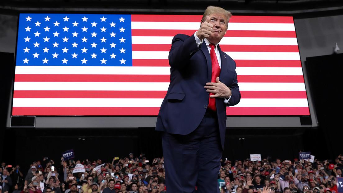 """""""Justicia estadounidense"""": Trump se jacta de la muerte de Soleimani en su primer acto electoral del año"""