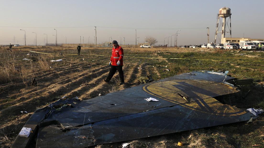 Teherán asegura que el Boeing ucraniano siniestrado no fue alcanzado por un misil