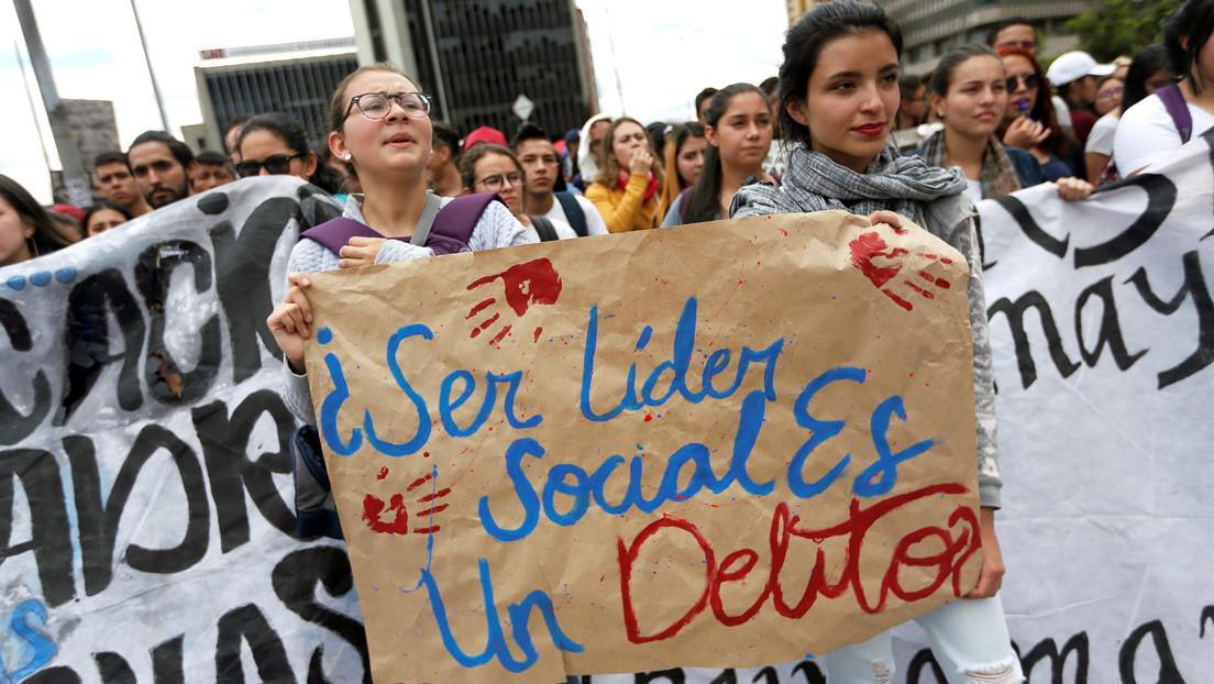 Tres líderes sociales asesinados en un solo día en Colombia: ¿otro año oscuro para la defensa de los derechos humanos?