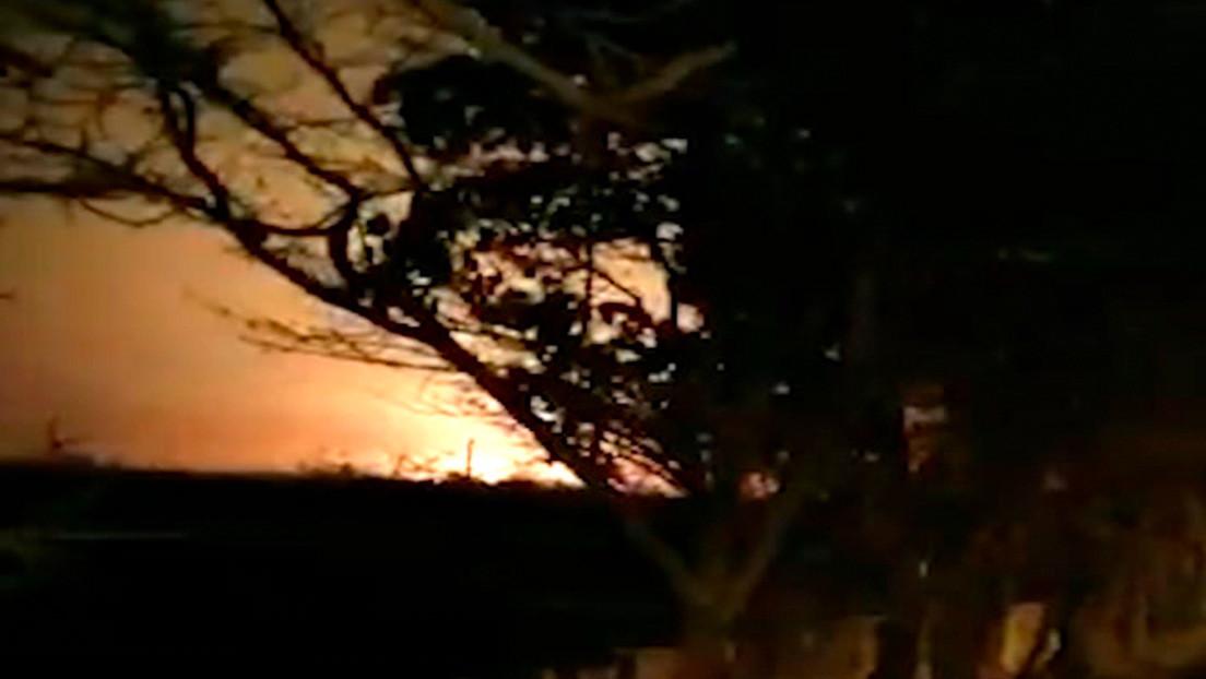 Nuevo video muestra el Boeing ucraniano envuelto en llamas antes de estrellarse en Irán