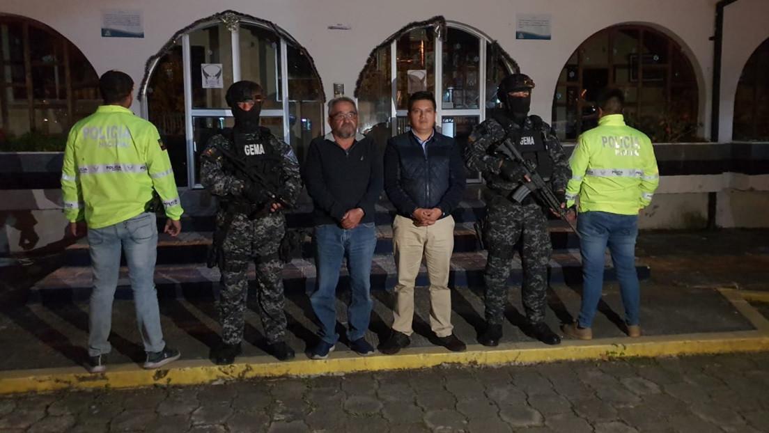 Detienen en Ecuador al padre de una política opositora que recibió un día antes asilo en México