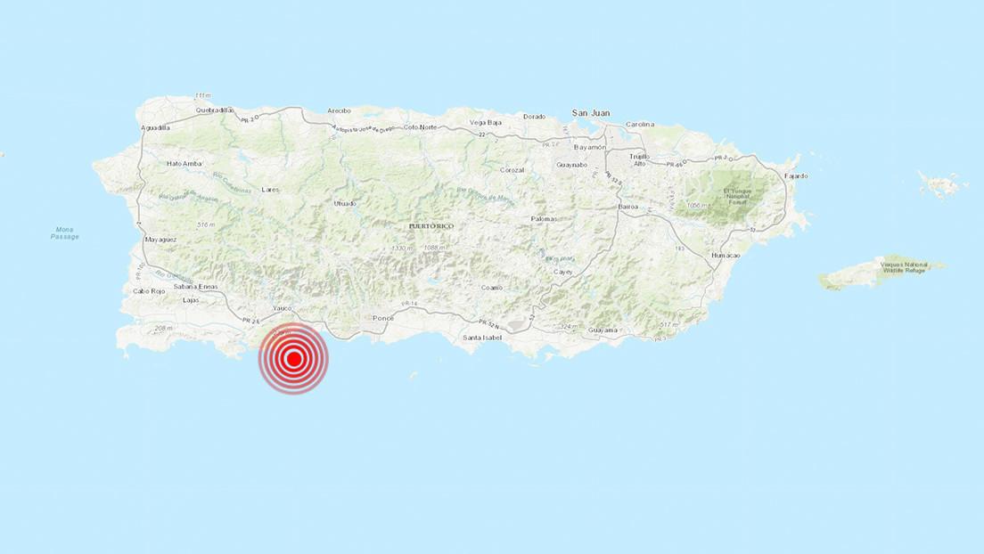 Un sismo de magnitud 5,2 se registra en Puerto Rico