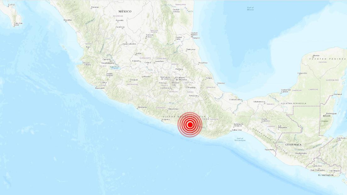 Un sismo de magnitud 4,7 sacude el centro de México