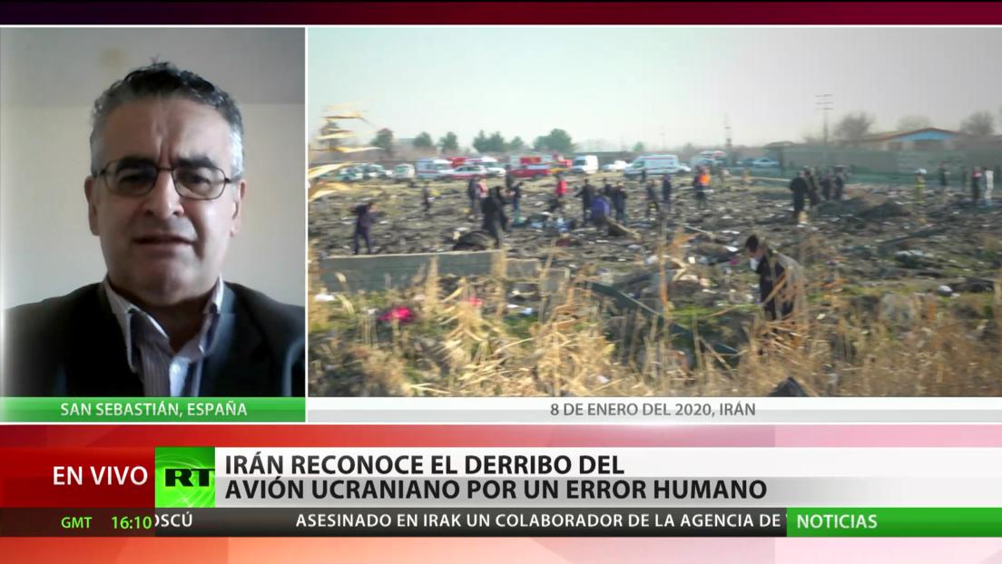 """Experto: En todas las guerras hay """"desastres involuntarios"""" como el derribo del Boeing ucraniano"""