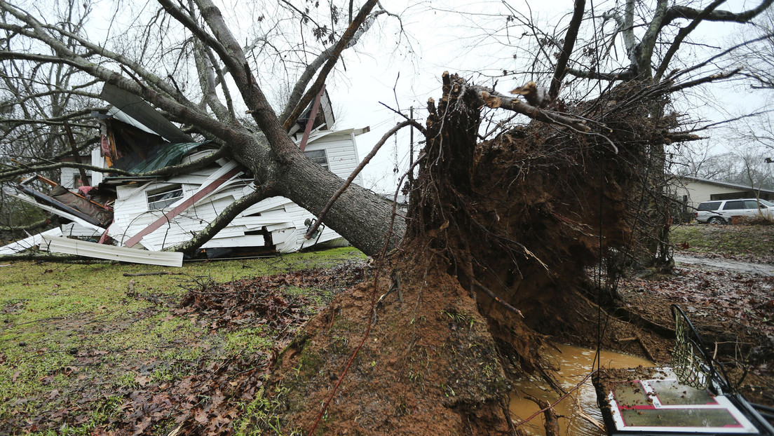 Fuertes tormentas dejan al menos 11 muertos en EE.UU. (VIDEO)
