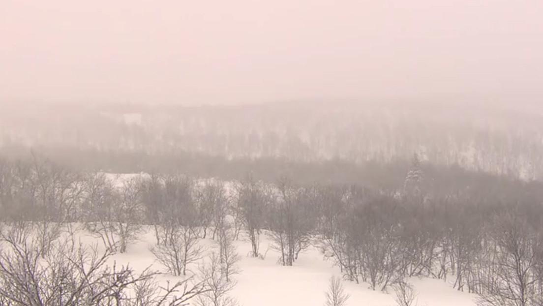 VIDEO: 'Primer amanecer' tras 40 noches en la mayor ciudad del Círculo Polar Ártico