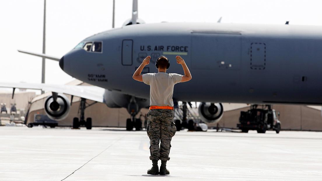 Ocho proyectiles de mortero impactan contra una base aérea al norte de Irak que alberga tropas de EE.UU.