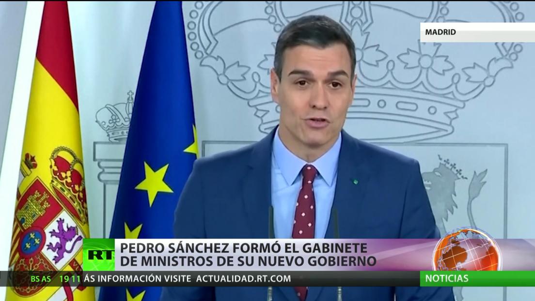 España: Pedro Sánchez forma el gabinete de ministros de su nuevo Gobierno