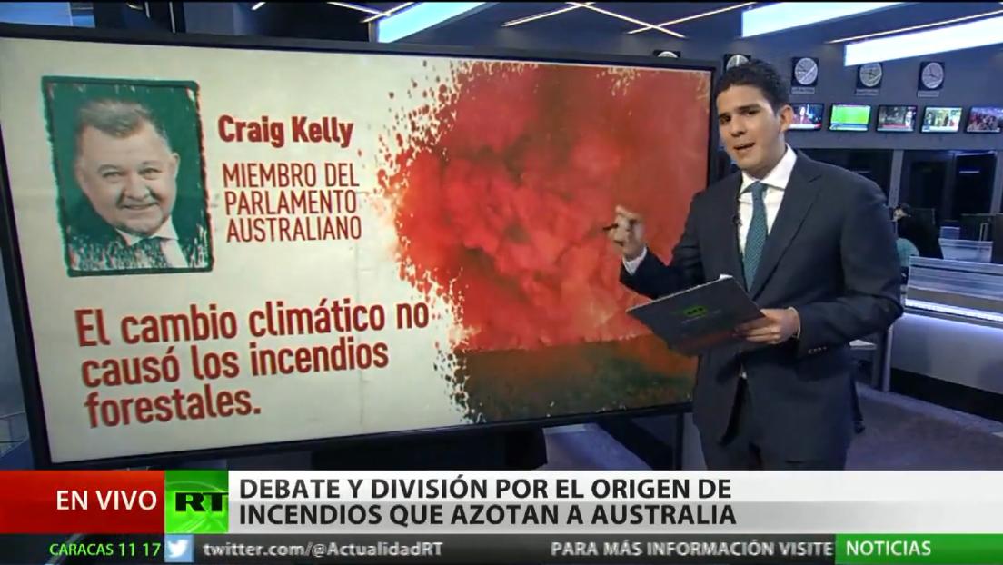 División en Australia por las causas de la ola de incendios en el país