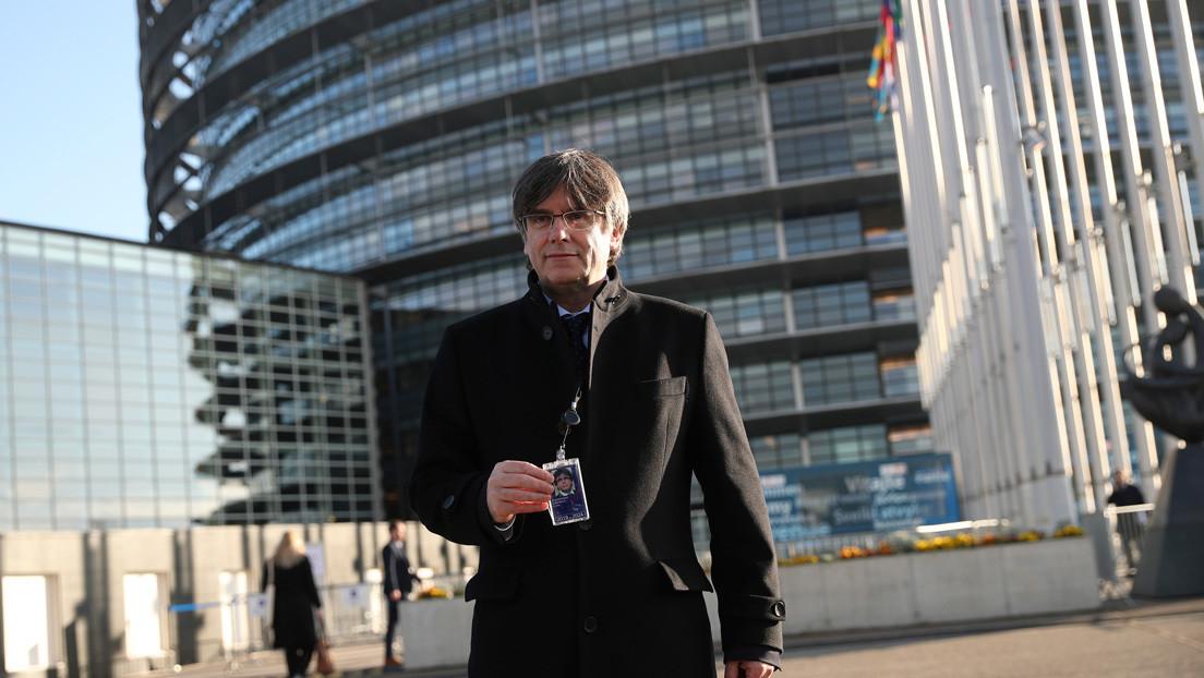 Puigdemont se estrena como eurodiputado: ¿cuál es la situación jurídica de los líderes independentistas catalanes?