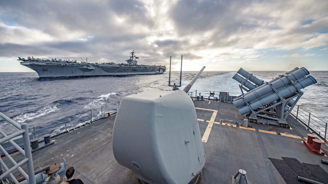 EE.UU. aumenta su presencia militar en Asia Oriental para contrarrestar el fortalecimiento de China