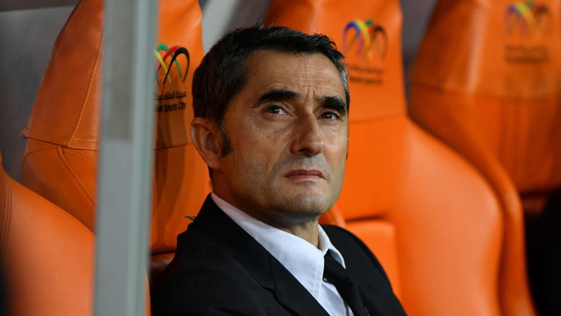 Reportan la destitución de Ernesto Valverde, entrenador del FC Barcelona
