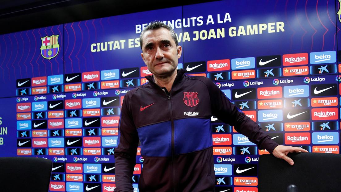 El FC Barcelona destituye a Ernesto Valverde