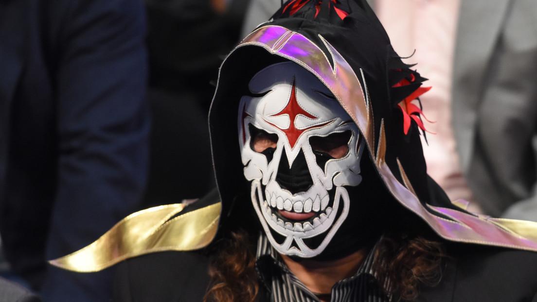 FOTO: Revelan el verdadero rostro del luchador mexicano La Parka pocos días después de su muerte y pudo ser por accidente