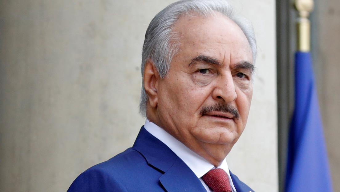 La Cancillería rusa confirma que el mariscal libio Haftar se fue de Moscú sin firmar el acuerdo