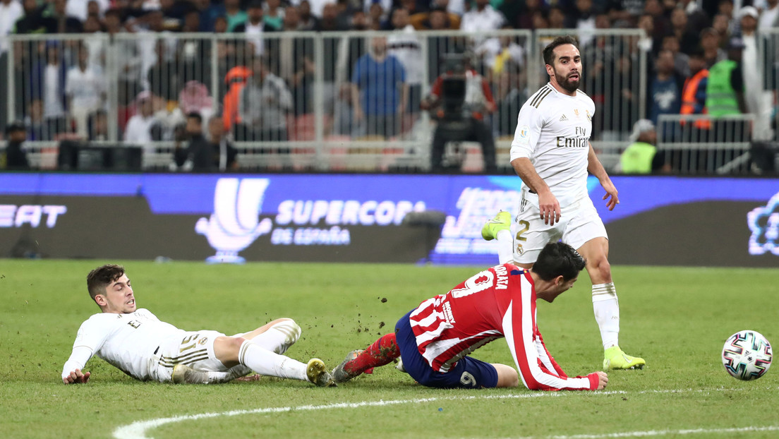 Un inesperado efecto de la polémica jugada en la final de la Supercopa de España perjudicó al Atlético de Madrid