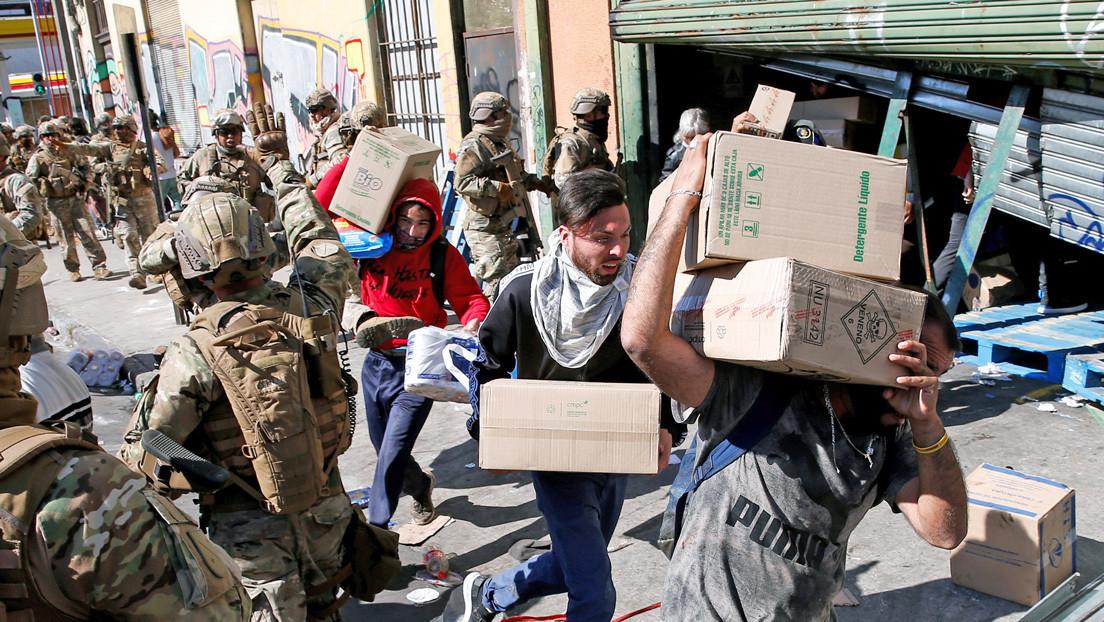 ¿Criminalización de la protesta? De qué se trata la polémica ley 'antisaqueos' aprobada por el Senado chileno
