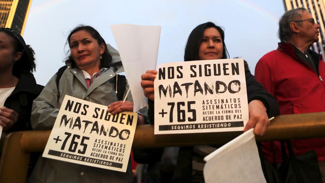 El asesinato a tiros de otro líder social enciende las alarmas en Colombia