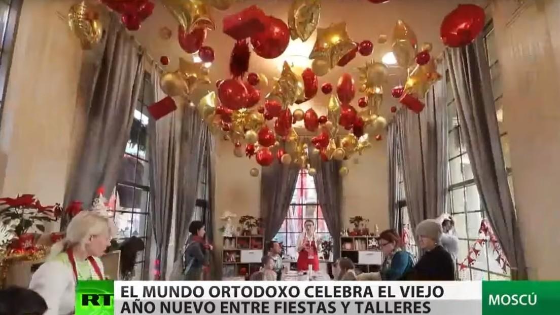 Moscú se inunda de eventos, conciertos y talleres para celebrar el Viejo Año Nuevo