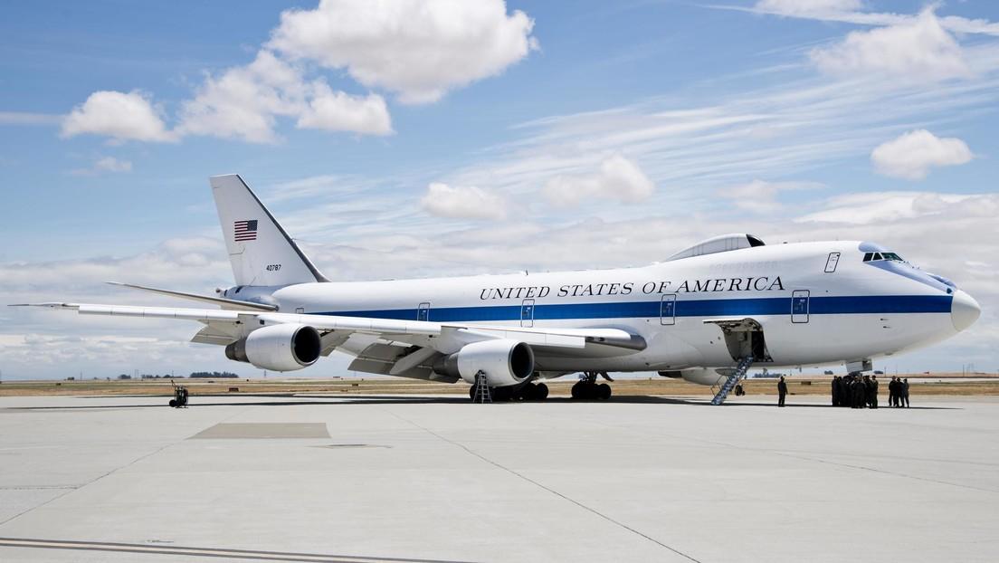VIDEO: El 'avión del Juicio Final' de EE.UU. desde dentro
