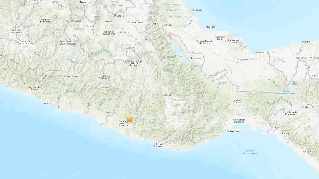 Tres sismos sacuden el sur de México en menos de una hora
