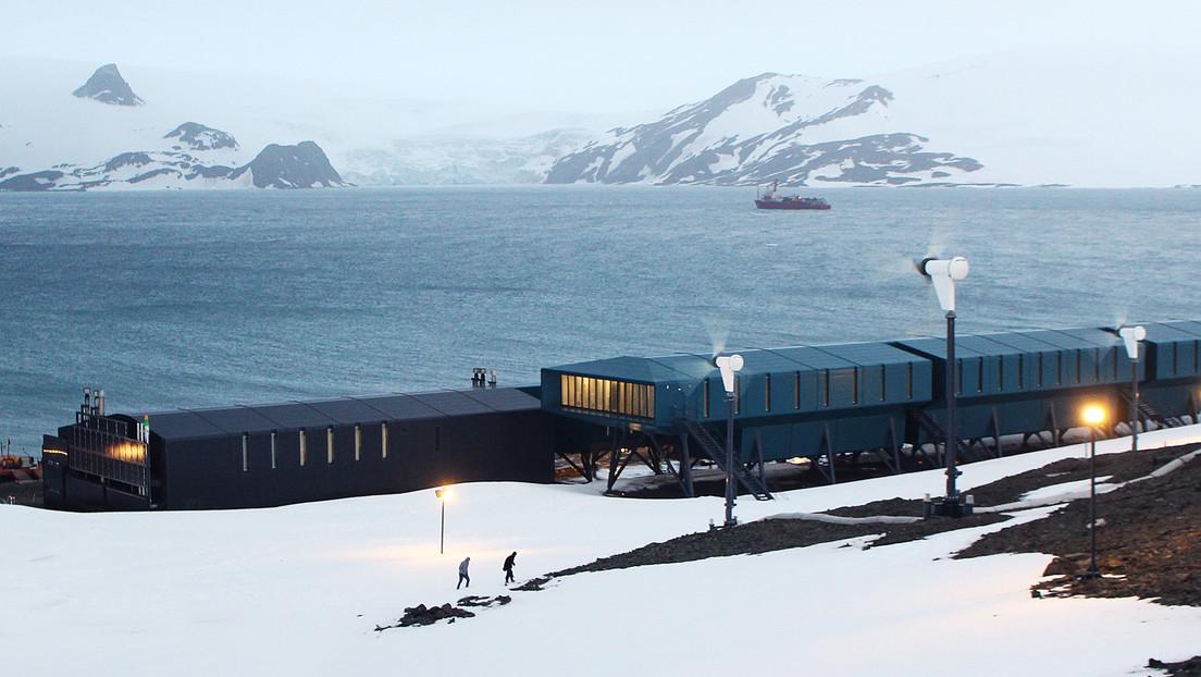 La espectacular arquitectura de la estación científica que Brasil inaugura en la Antártida