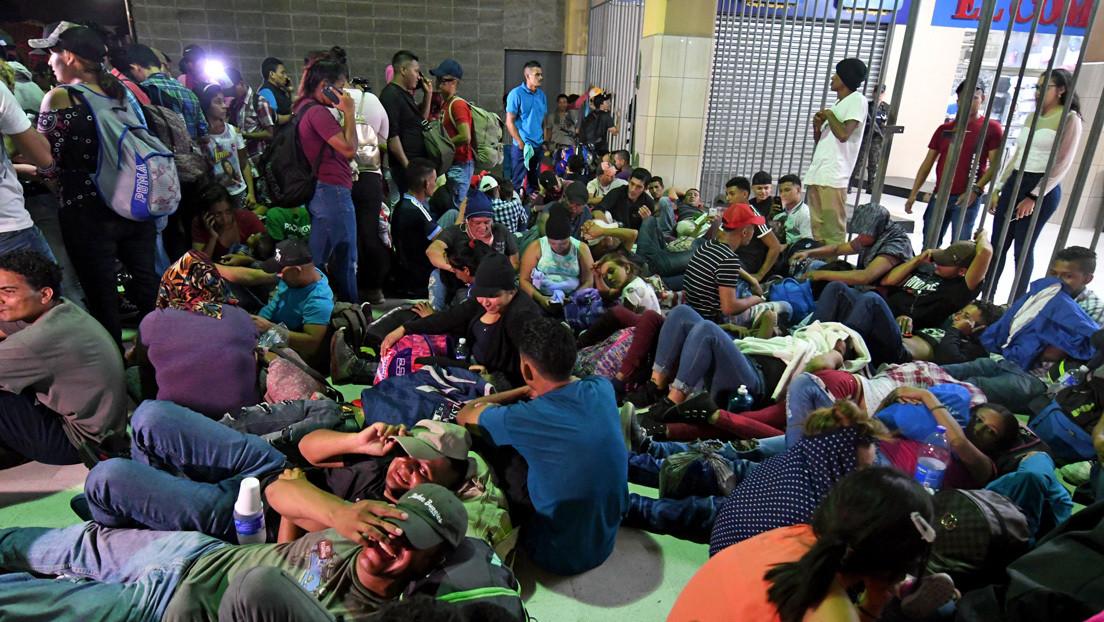 Los motivos que hay detrás de la nueva caravana de migrantes hondureños que parte hacia EE.UU.