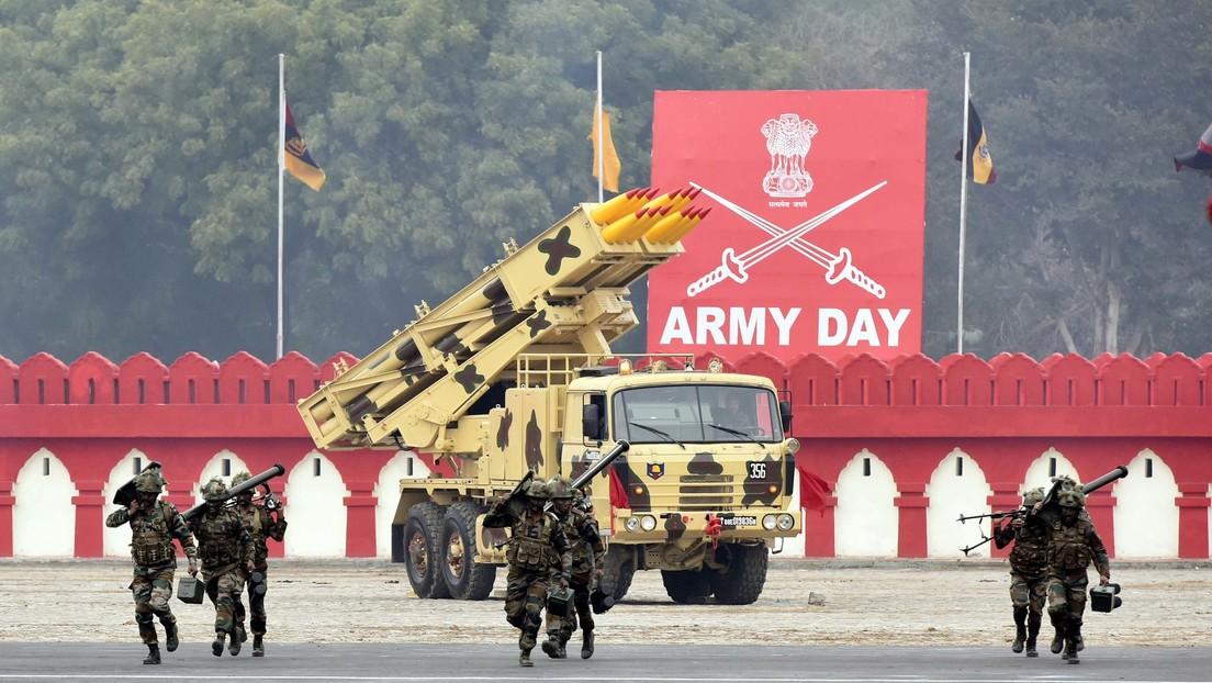VIDEO, FOTOS: India muestra su equipo bélico en el desfile del Día del Ejército