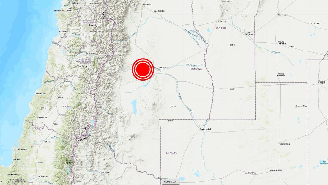 Un sismo de 5,0 se registra en la ciudad argentina de Mendoza