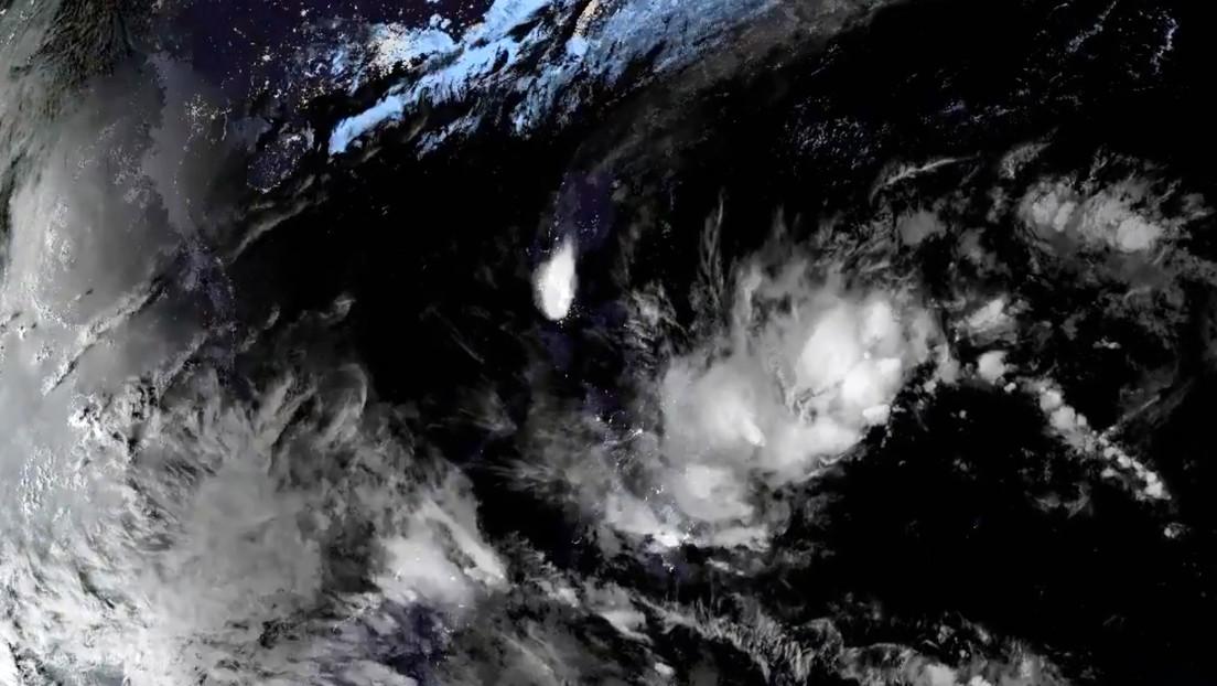 VIDEO: La erupción del volcán filipino Taal vista desde el espacio