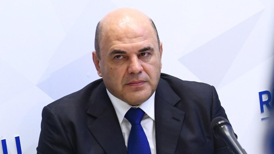 Putin propone al jefe del servicio tributario Mijaíl Mishustin como candidato para encabezar el nuevo Gobierno