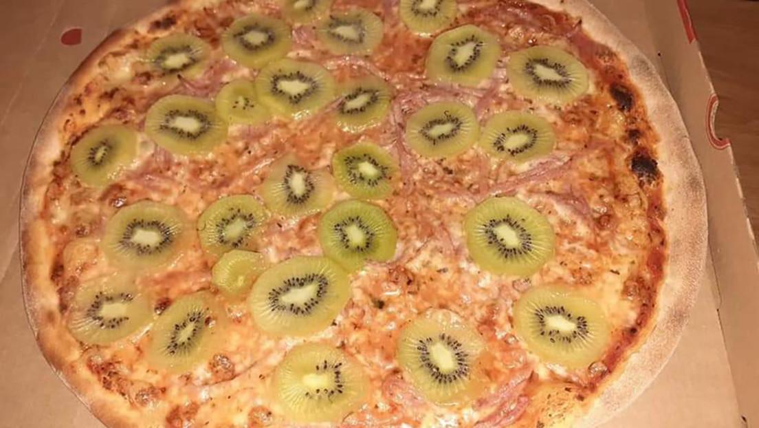 Este innovador 'rival' de la pizza con piña provoca una dramática división entre los internautas y genera una lluvia de memes