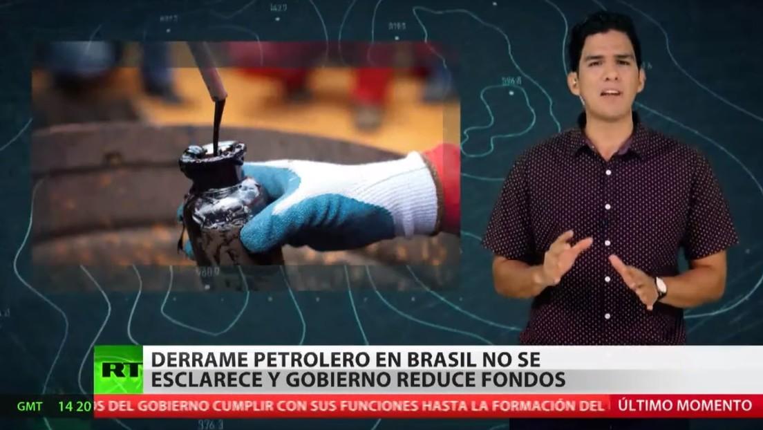 El derrame de petróleo en Brasil sigue sin esclarecerse