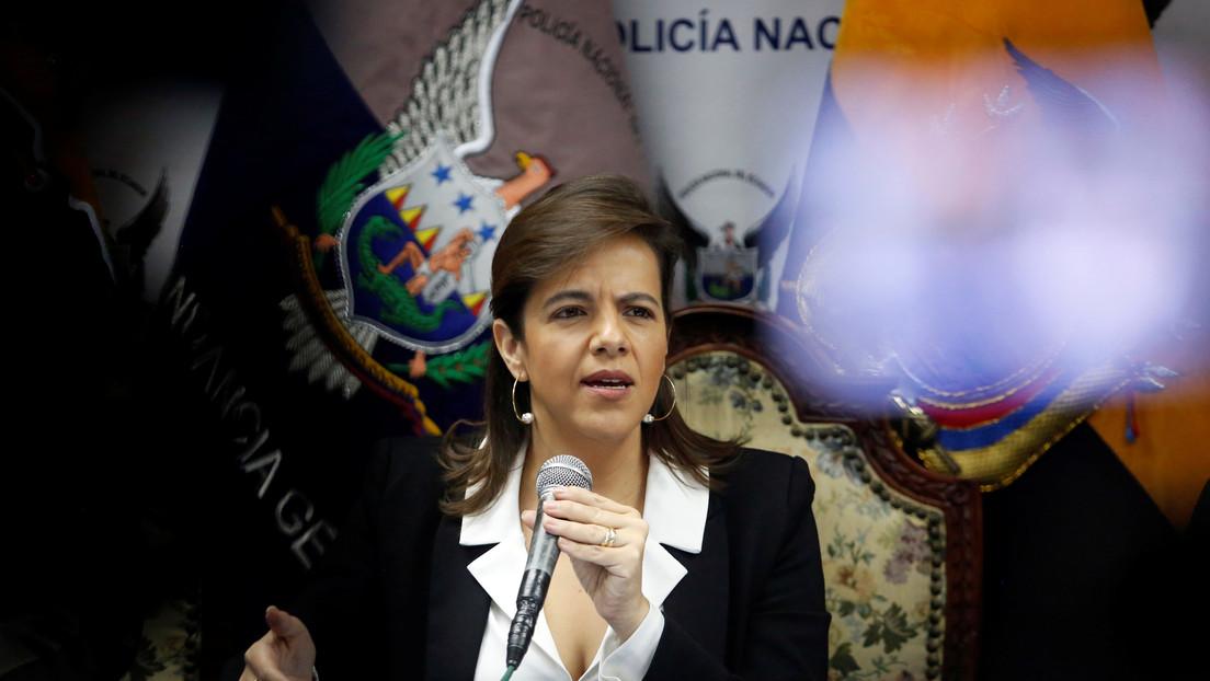 Diputados ecuatorianos presentan nuevo pedido de juicio político contra la ministra de Gobierno por su actuación en las protestas