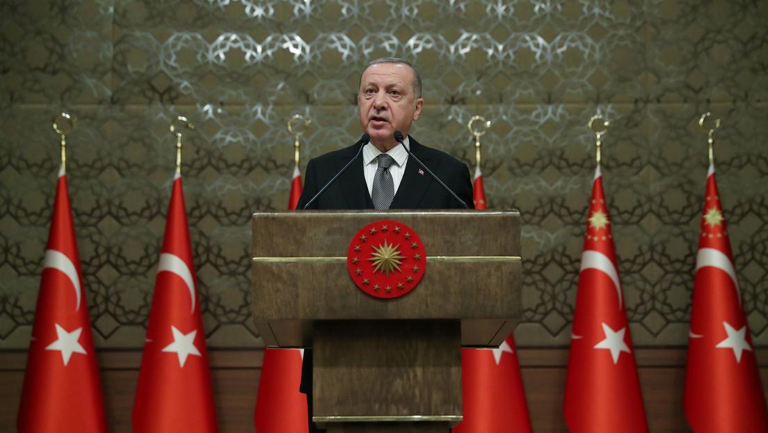Erdogan anuncia el inicio del envío de tropas turcas a Libia
