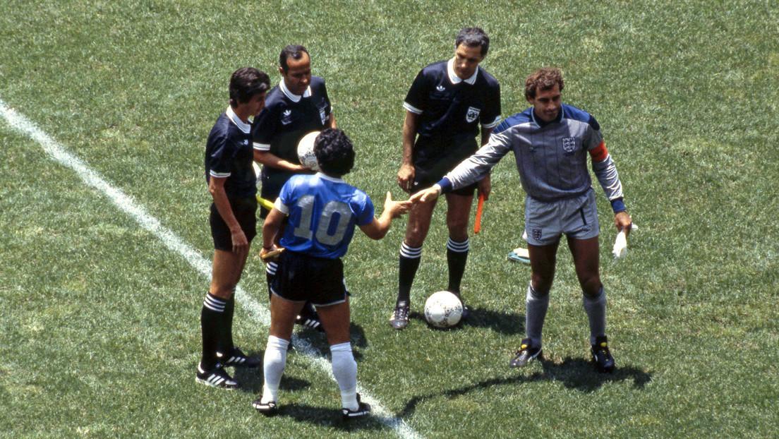 """El portero que sufrió la 'mano de Dios' y el 'Gol del Siglo': """"Maradona es el mejor jugador de la historia, pero no lo respeto"""""""
