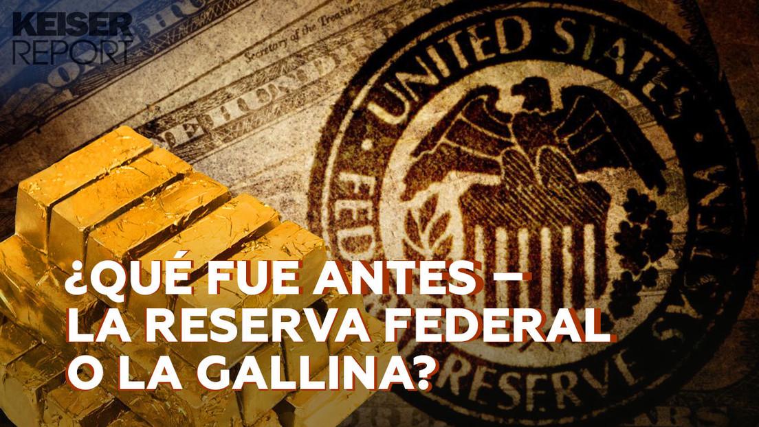 """""""Genocidio a cambio de beneficio"""": la estrategia de la Reserva Federal para """"controlarlo todo"""""""