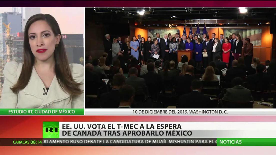 EE.UU. vota el T-Mec a la espera de Canadá tras aprobarlo México
