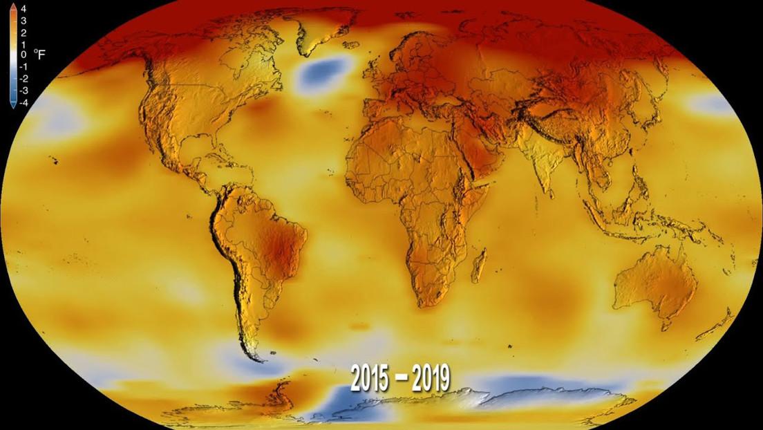 VIDEO: La NASA rastrea la temperatura desde 1880 y muestra que vivimos en la década más cálida registrada