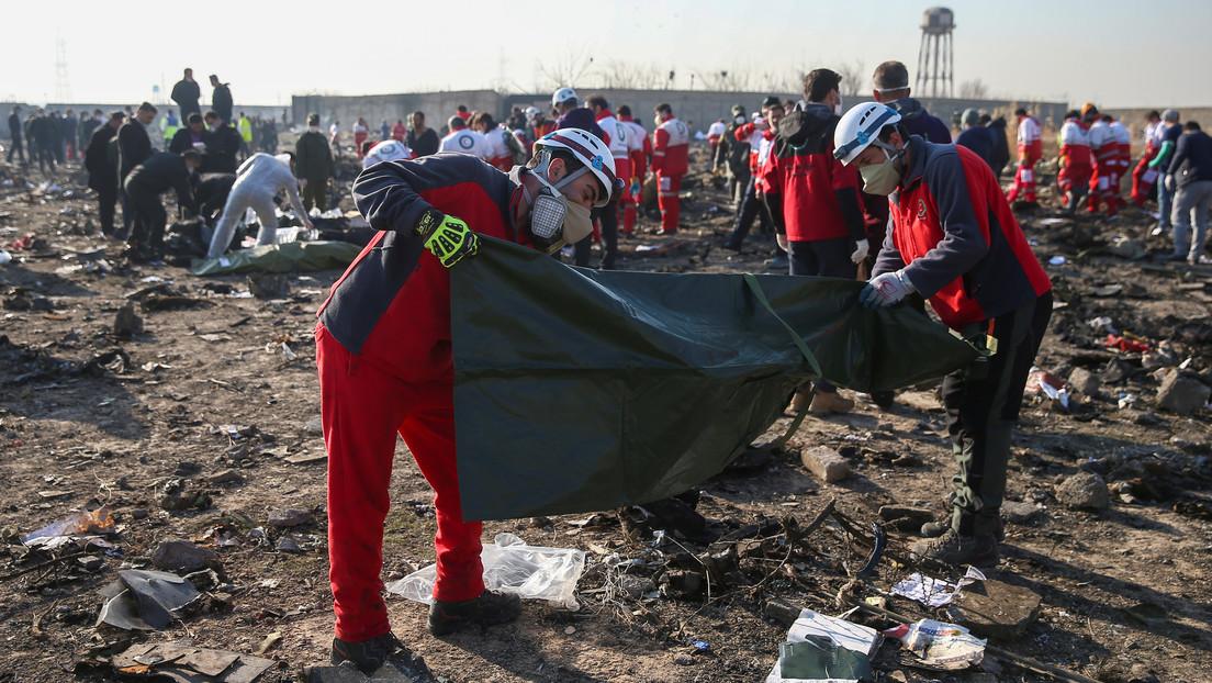 Canadá, Ucrania, Suecia, Afganistán y Reino Unido instan a Irán a pagar compensaciones a las familias de las víctimas del Boeing derribado