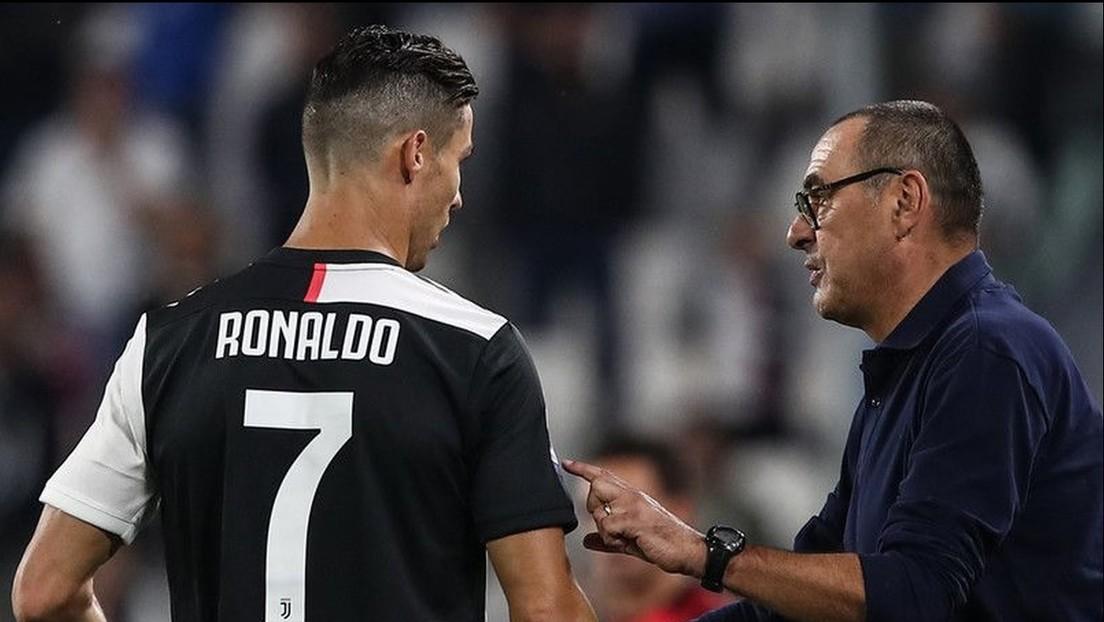 """Indirecta para Lionel Messi: al entrenador de la Juventus le """"molesta"""" que otro futbolista tenga más premios que Cristiano Ronaldo"""