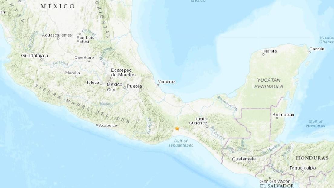 Un terremoto de magnitud 5,3 se registra en México y es seguido por varias réplicas